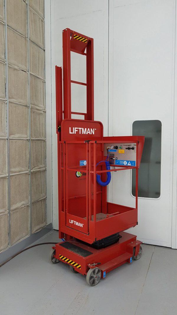 Самоходный взрывобезопасный подъемник для маляра LIFTMAN