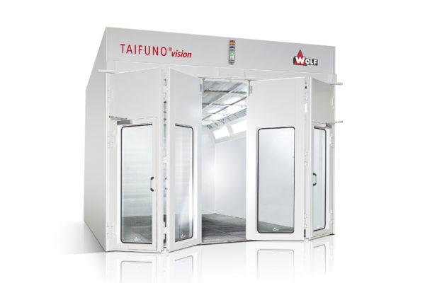 Покрасочная камера WOLF TAIFUNO