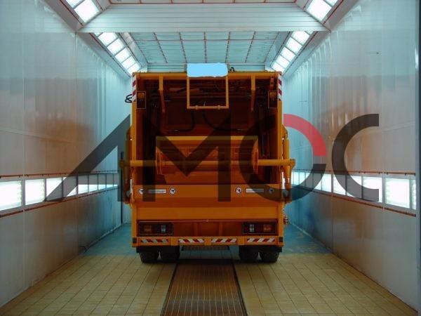 Покрасочная камера для грузовиков Maxi Range